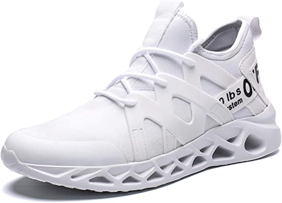 Mens Sports Running Shoes Walking Athletic Trainers Casual Fashion Sneakers Lightweight Breathable Gym Fitness
