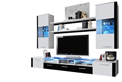 Bon Concept Muebles Fresh Modern Wall Unit/Entertainment Centre/Spacious And  Elegant Furniture/Tv