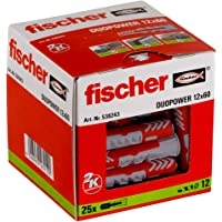 Fischer 12X60 Taco Duopower (Caja de 25 Uds)