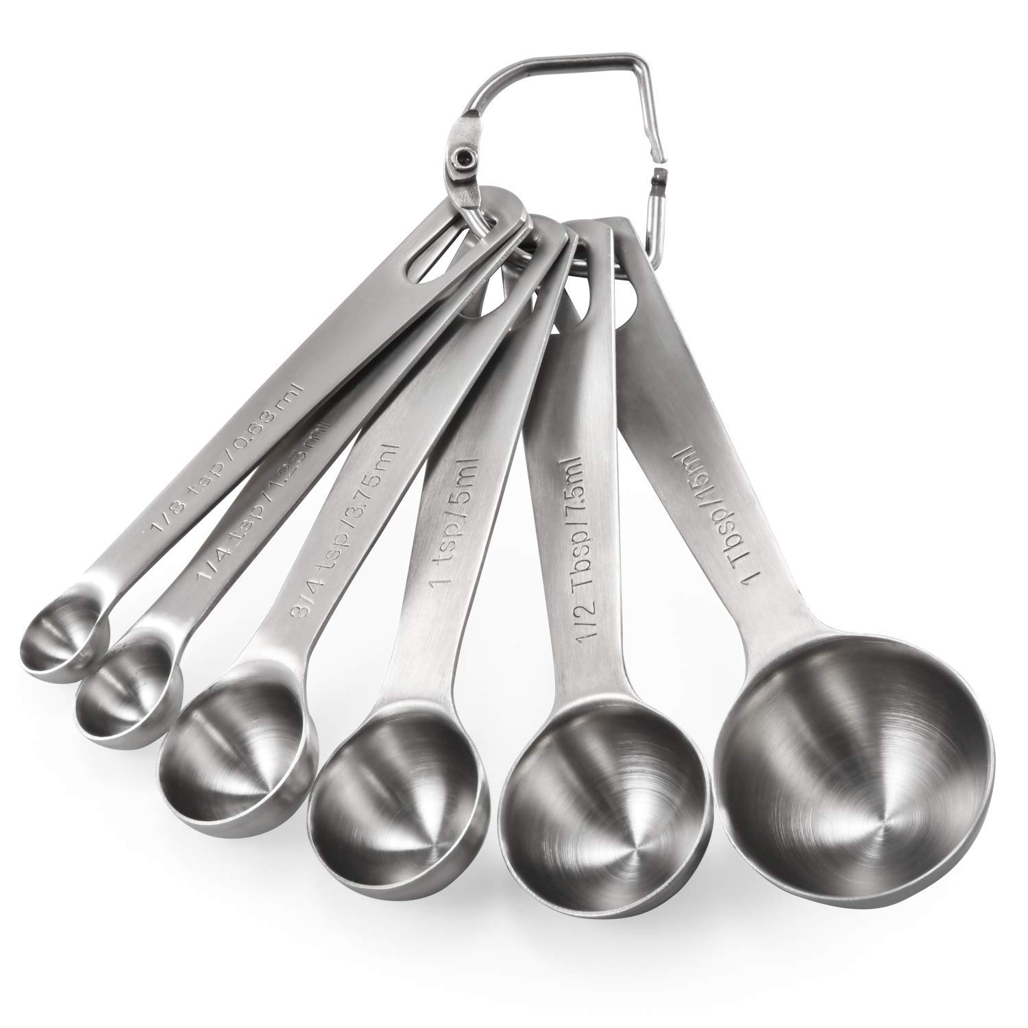 kitchen accessories - Measuring Spoons: U-Taste 18/8 Stainless Steel Measuring Spoons