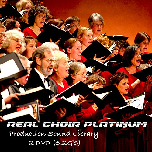 CHOIR REAL- HUGE UNIQUE SOUND & PRODUCTION 24bit WAVE samples LIBRARY on 2DVD