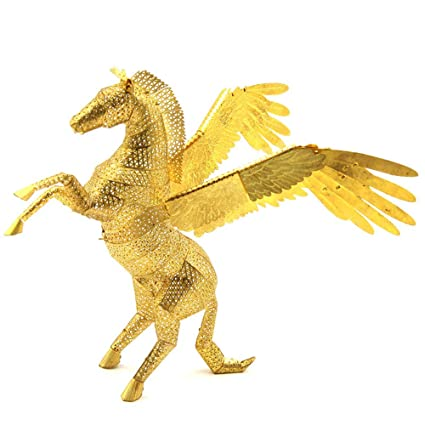 Amazon.com: 2016 Microworld 3d metal – Puzzle Pegasus Fly ...