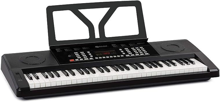 Schubert Etude 61 MK II Teclado digital - Teclado para ensayos, 61 Teclas, Función de grabación y aprendizaje, 50 canciones, 300 tonos/ritmos, ...