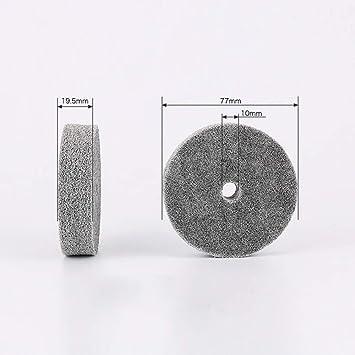Amazon.com: 20 discos abrasivos de 3 pulgadas de fibra de ...