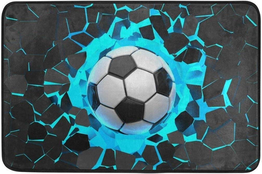 yting Balón de fútbol Deportivo 3D Felpudo Antideslizante ...