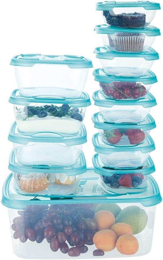 ERNESTO - Juego de 13 recipientes de almacenamiento de alimentos ...