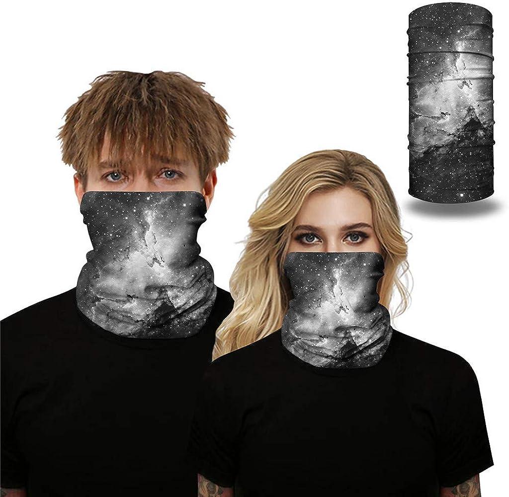 2PC Outdoor Turban Windproof Sun Protection Dust Mask Sports Safety Face Mask Aadiju