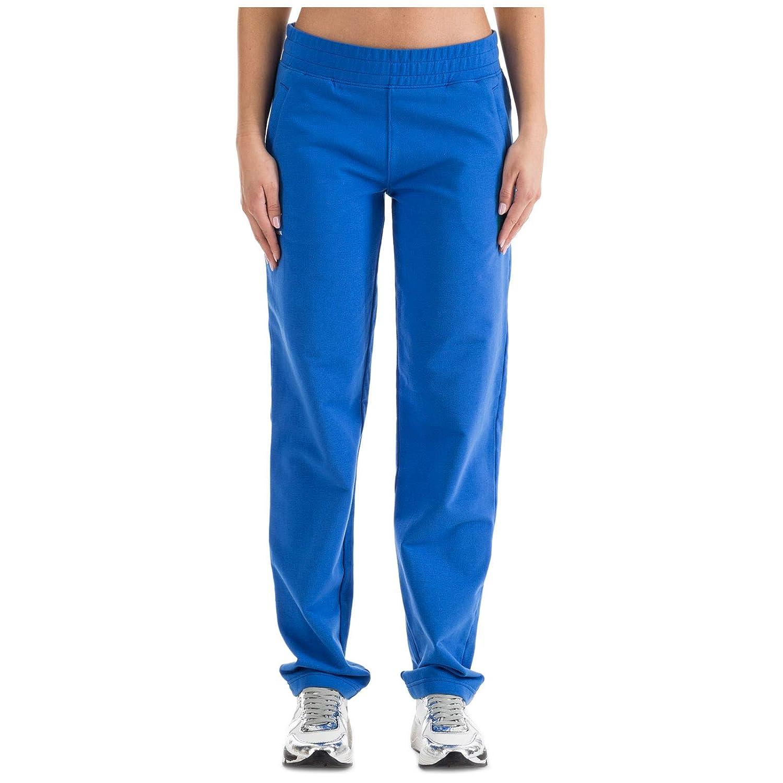Emporio Armani EA7 Pantalones Deportivos Italia Team Mujer True Blue