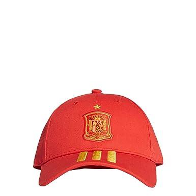 adidas FEF 3S Gorra, Hombre, Rojo (dorfue), Talla única: Amazon.es ...