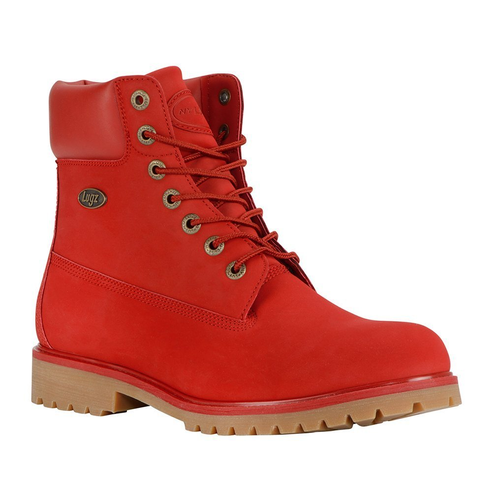 Lugz Men's Convoy Fashion Boot, Mars Red/Gum, 9 D US