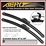OEM QUALITY 26 + 12 AERO Premium All-Season Frameless Windshield Wiper Blades (Set of 2)