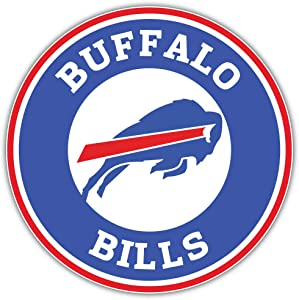 Bills Football - Buffalo Combo Logo Sport Decal 5'' X 5''
