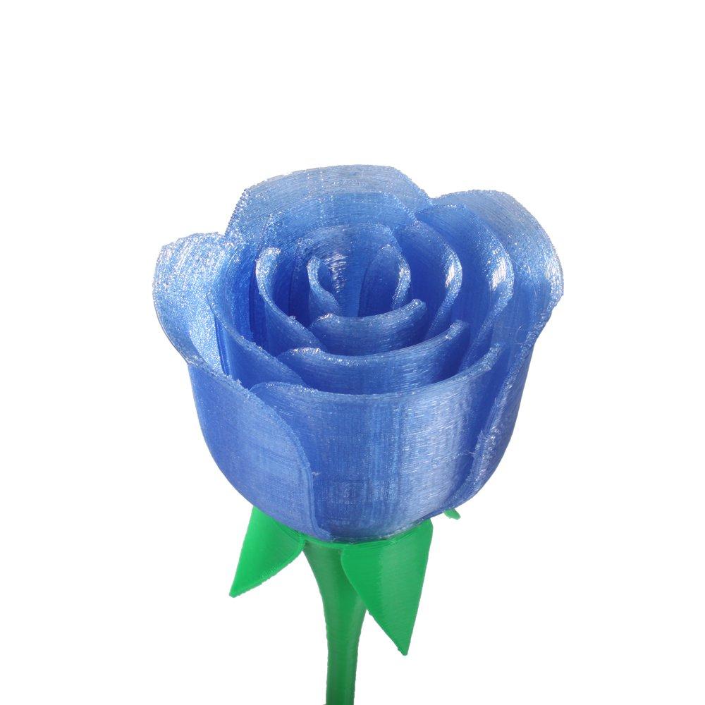 500g CoLiDo LFD035UQ7J Printer Filament PLA 1.75 mm Spool Translucent Blue Print Rite