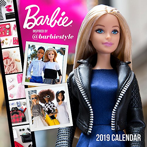 Barbie @barbiestyle 2019 Wall Calendar (Robert Best Barbie Calendar)