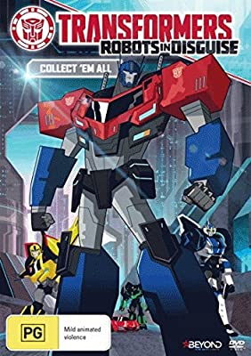 Transformers Robots in Disguise Collect 'Em All DVD