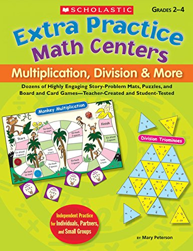 Extra Practice Math Centers: Multiplication, Division & (Extra Practice Math Centers)
