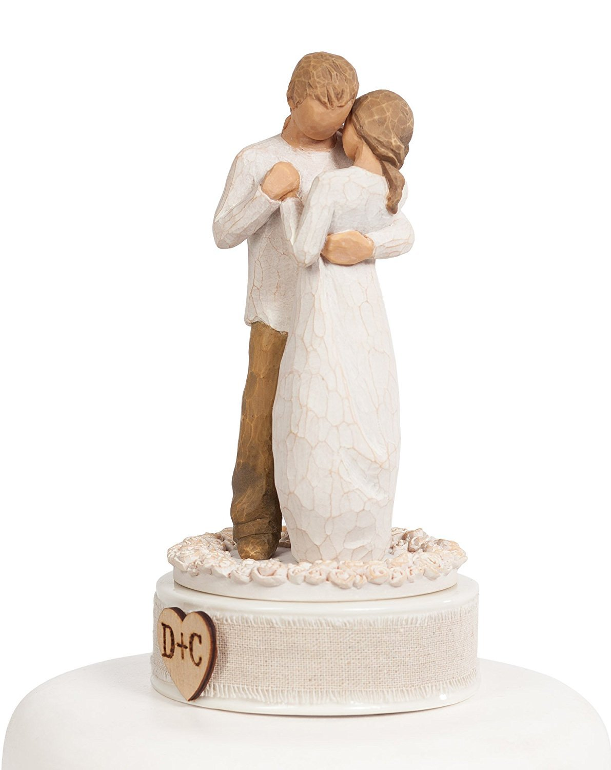 Personalized Willow Tree''Promise'' Wedding Cake Topper By Wedding Collectibles by DEMDACO - Home (Image #2)