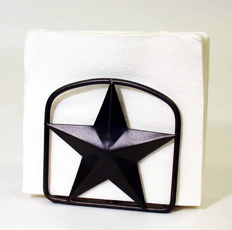 STAR Squareナプキンholder-5インチW x 5インチH   B00IDC66EQ