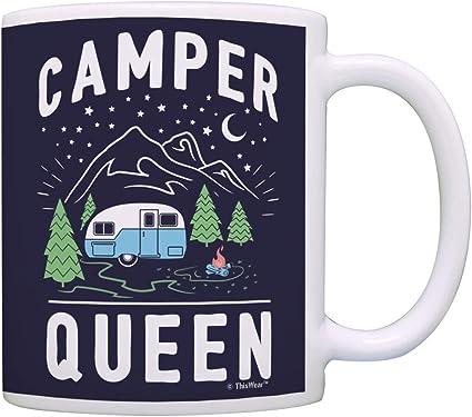 Camper Queen Mug