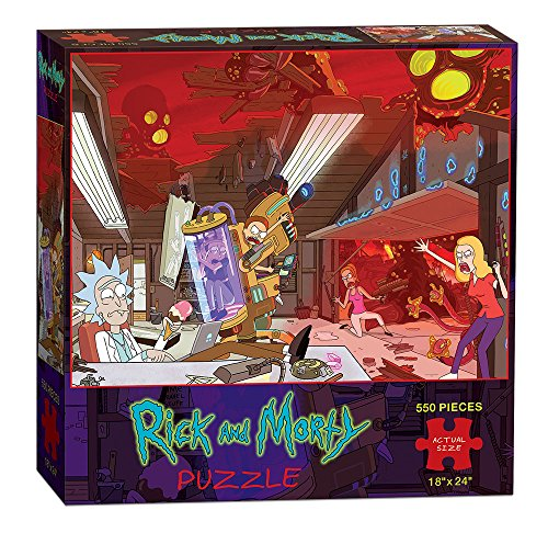 USAopoly Rick & Morty Puzzle (550 Piece)