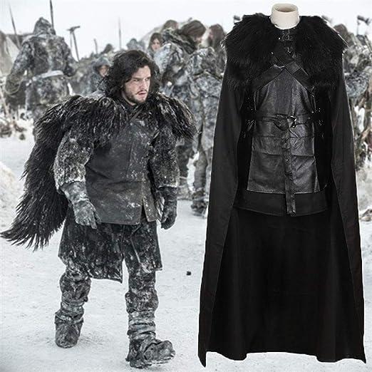 Game of Thrones: una canción de Hielo y Fuego Jon Nieve Cosplay ...