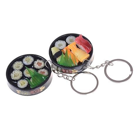 Amazon.com: tuantuan 2 piezas divertido Sushi Sashimi rollo ...