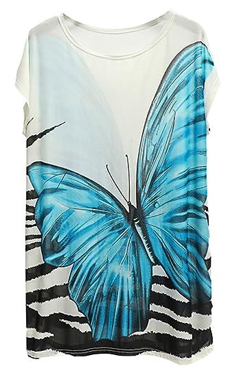 CaCamisetas Tallas Grandes Mujer Largas Blusas Camisas De Vestir Verano Estampadas Tops Manga Corta Tunicas Camisas