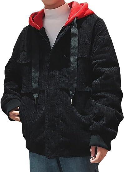 (ネルロッソ) NERLosso ブルゾン メンズ コーデュロイ フード付き パーカ ジャンパー スタジャン 大きいサイズ ミリタリージャケット ライダースジャケット 正規品 cmn24166