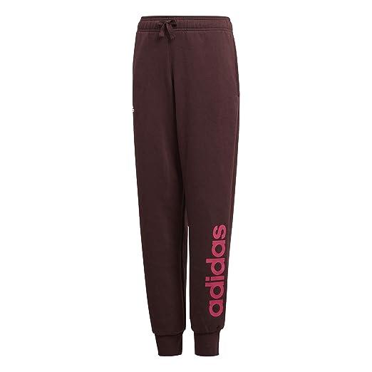 adidas Kids Girls Fashion Pants Essentials Linear Logo Running Training  (110 4-5 351b690a635b