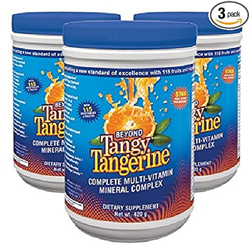 - Beyond Tangy Tangerine   T.V. 3 Pack, Tangy Orange