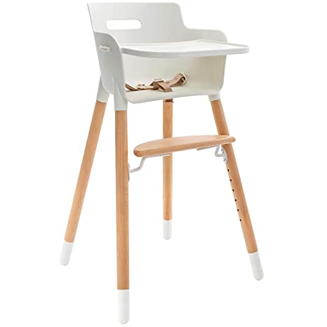 WeeSprout Wooden High Chair for Babies & Toddlers