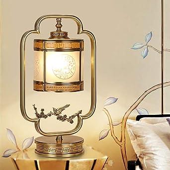 Iluminación de interior Lámparas mesilla de noche Nueva Fu china ...