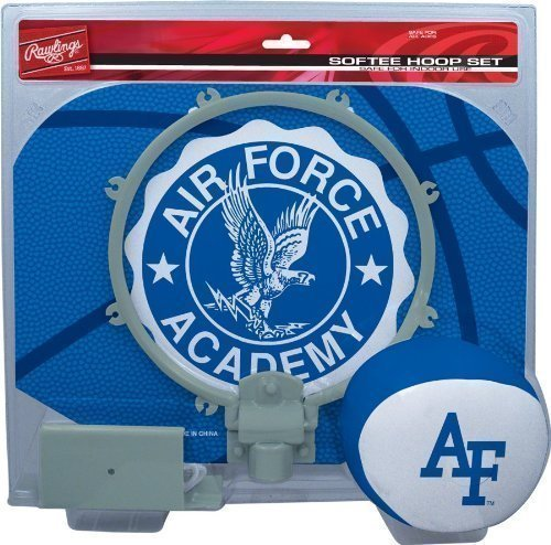 Softee Hoop Set - Air Force Academy Falcons Slam Dunk Indoor Basketball Hoop Softee Set
