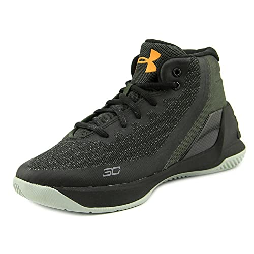 e85e74b9619 Under Armour PS Curry 3 Youth US 12 Black Basketball Shoe  UNDER ...