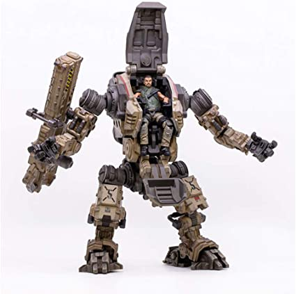 Lsxx 1 18 Machine Armor Model Dark Source Soldier Military Mech Model Action Robot Figure Toy 24 Cm Küche Haushalt