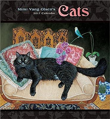 Mimi Vang Olsen's Cats 2017 Wall Calendar