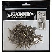 Fixman 378932 Tornillos para Madera Aglomerada, Oro, 3.5