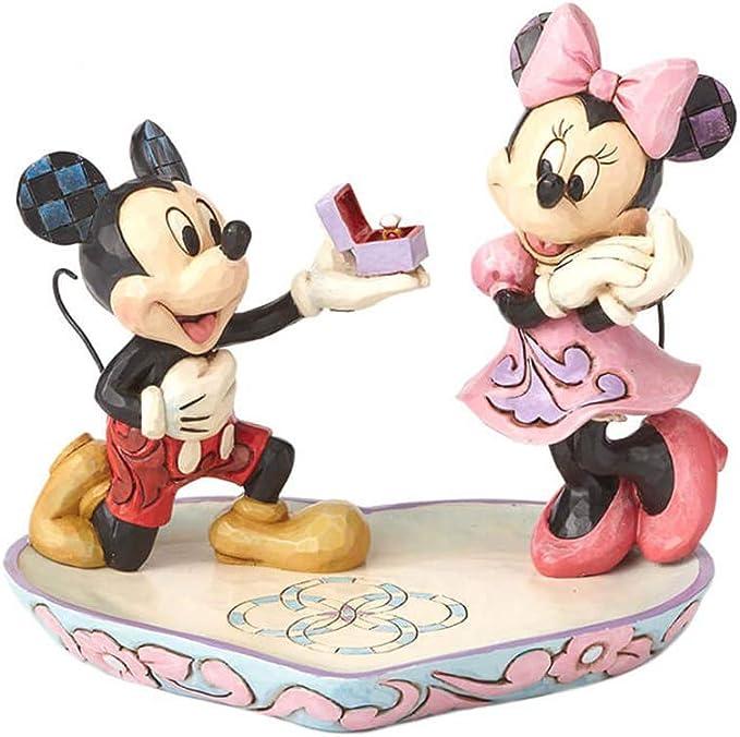 Disney Mmickey & Minnie Traditions A Magical Moment - Figura Decorativa