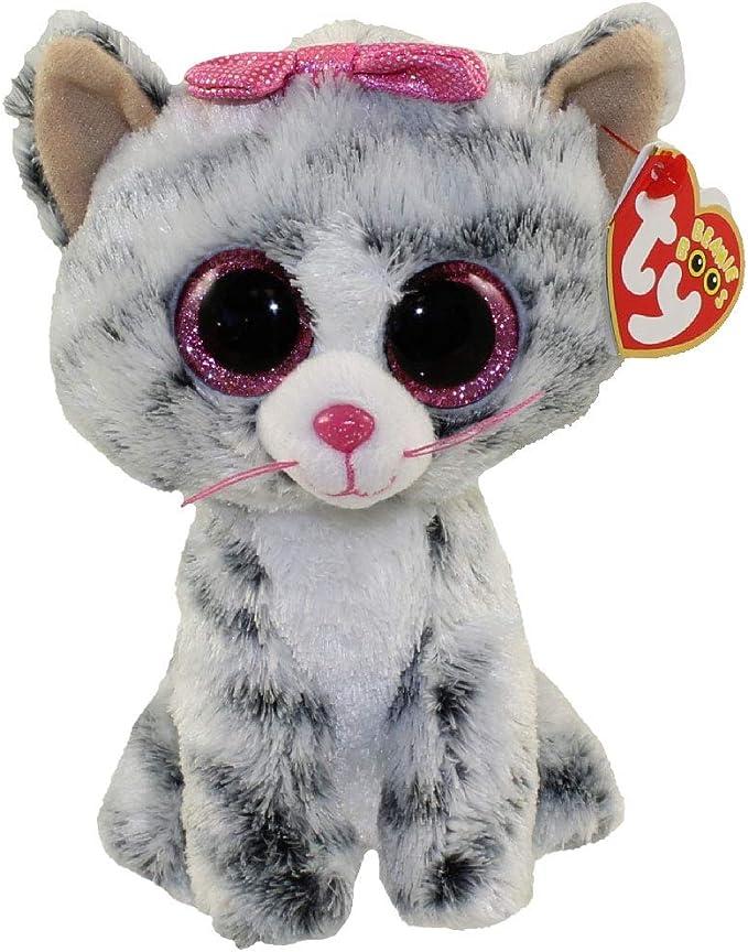 "6/"" TY Beanie Boo Sweetums Valentine Giraffe Glitter Eyes 2018 Plush Stuffed Toys"