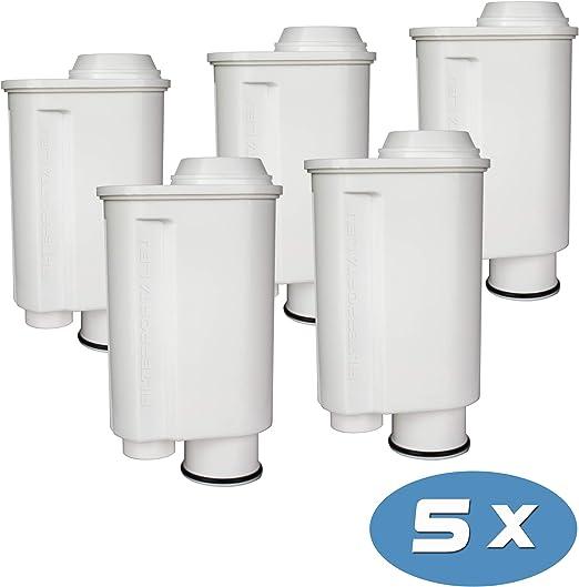 5-Pack Cartucho de Filtro Compatible para la cafetera automática ...