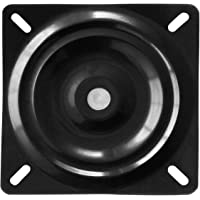 AAGUT 10″ Chair Swivel Plate Bar Stool Replacement Boat Seat Turntable Heavy Duty Steel Cabinet Base