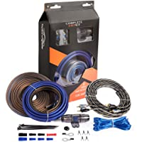 $24 » TOPSTRONGGEAR 8 Gauge Complete Amp Kit True 8 AWG Amplifier Subwoofer Installation…