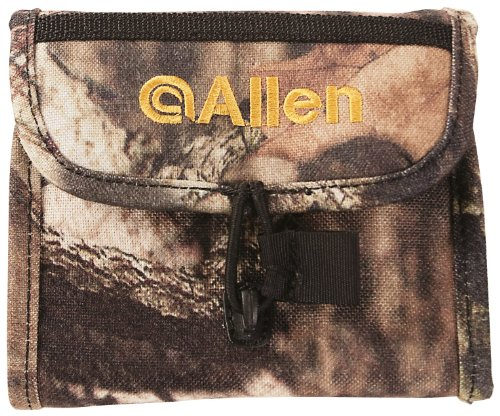 Allen Deluxe Ammo Carrier, Holds 10 Rifle Cartridges, Mossy Oak Break-Up (Deluxe Cartridge Belt)