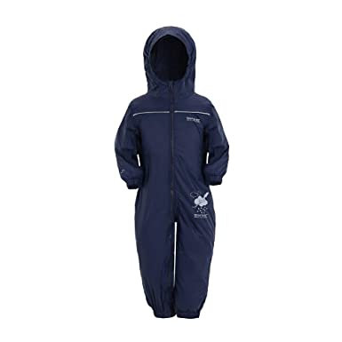 c15b6f87d Regatta Unisex Kids Puddle IV All-in-One Suit: Amazon.co.uk: Clothing