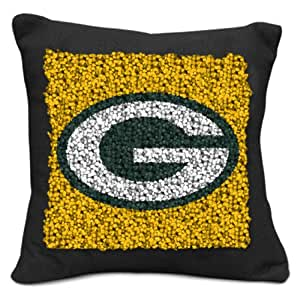 Amazon Com Nfl Green Bay Packers Pillow Latch Hook Kit