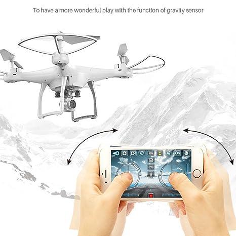 LBAFS Drone X10 con Cámara HD Video En Vivo Altitude Hold WiFi FPV ...