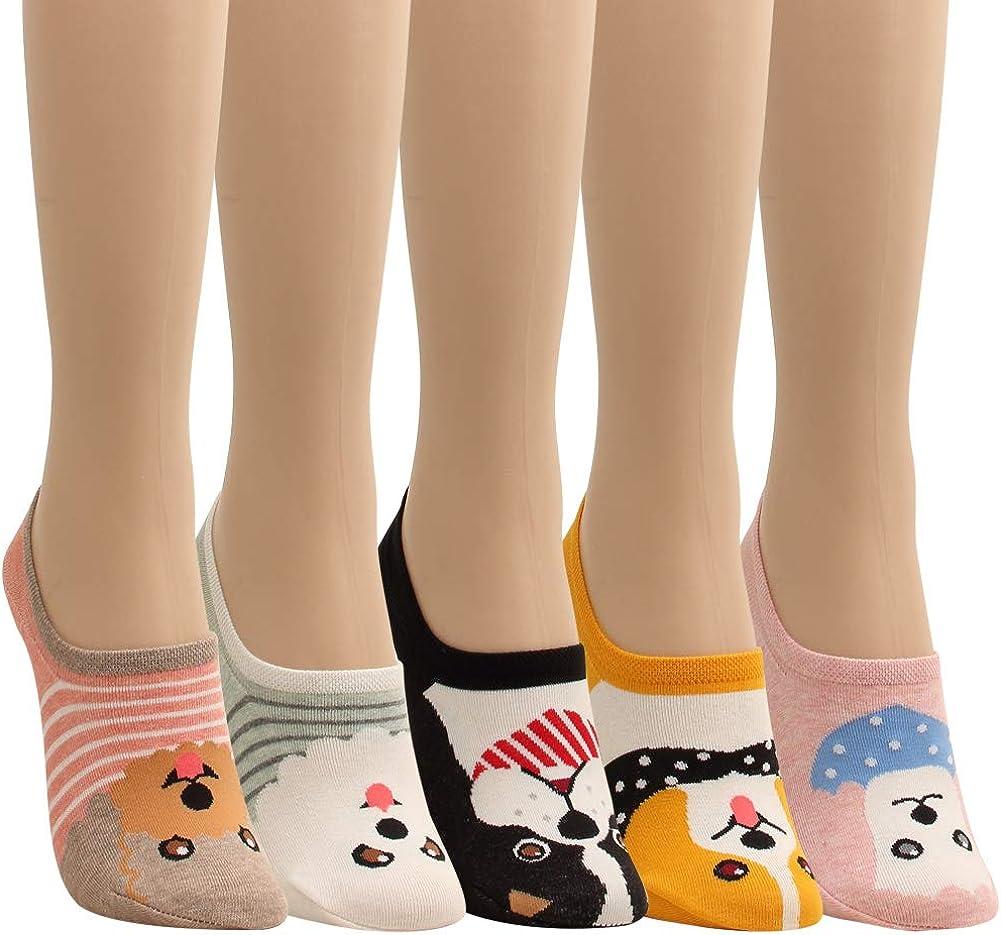 Women Novelty No Show Socks Funny Food Crazy Chips Popcorn Hamburger Low Liner For Teen Cotton