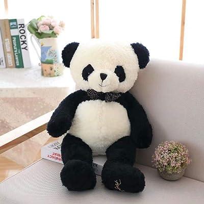 Juguete Panda De Peluche Bowknot Suave, Peluche Suave para Niños Panda Toy China Panda Doll, para Niños Niños Niñas Niños Decoración Felpa, 40 Cm: Juguetes y juegos