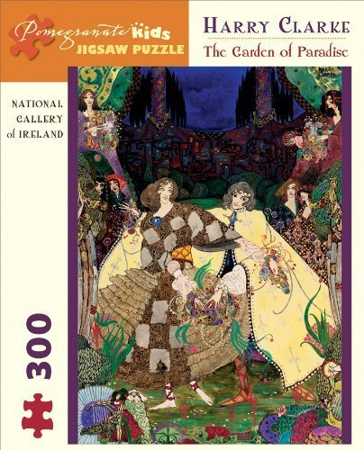 Harry Clarke 300 Piece Puzzle The Garden Of Paradise Pomegranate