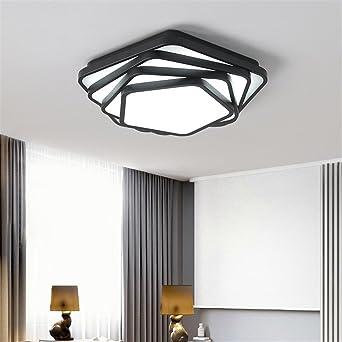 Moderne Deckenleuchten Küche | Weiss Schwarz Moderne Deckenleuchten Polygon Dez Lampen Deckenleuchte